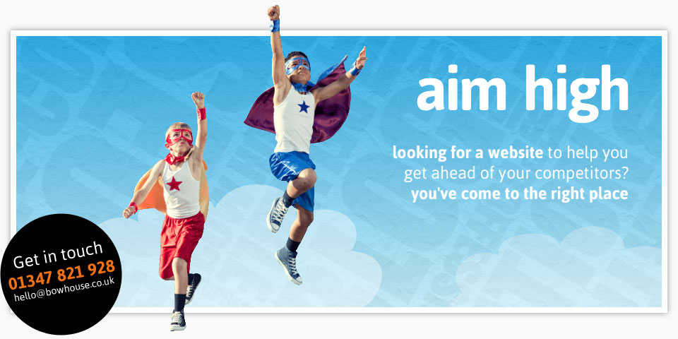 aim high - looking for a website to help you get ahead of your competitors? you've come to the right place