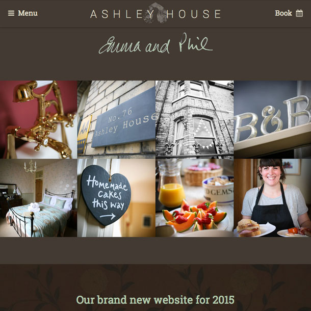 Wondrous Website Design For York Guest House Largest Home Design Picture Inspirations Pitcheantrous