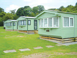 Holiday caravans for hire