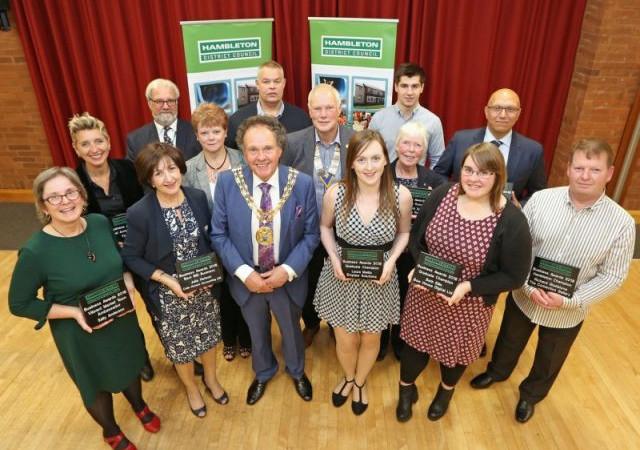 Hambleton Business Awards 2018 winners photograph