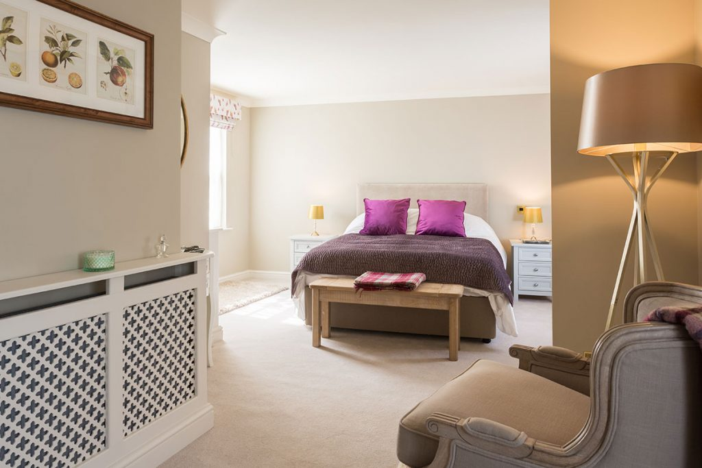 bedroom in Coxwold Cottages