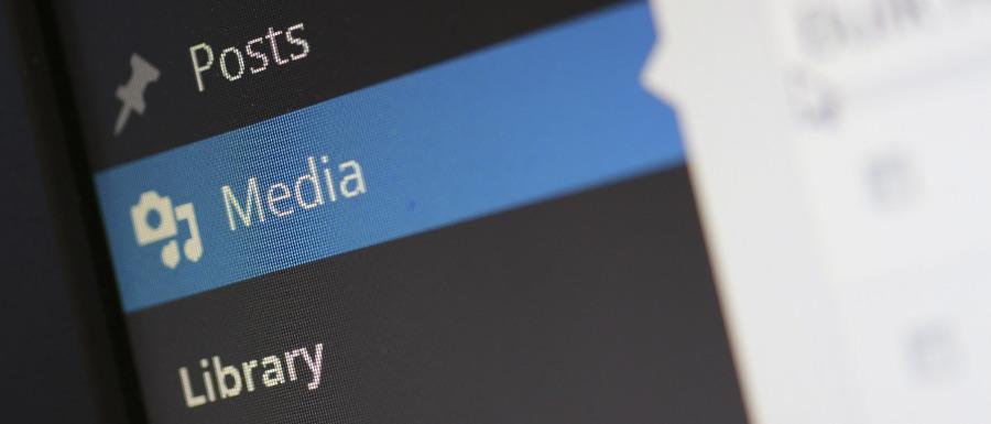 easy media management in WordPress